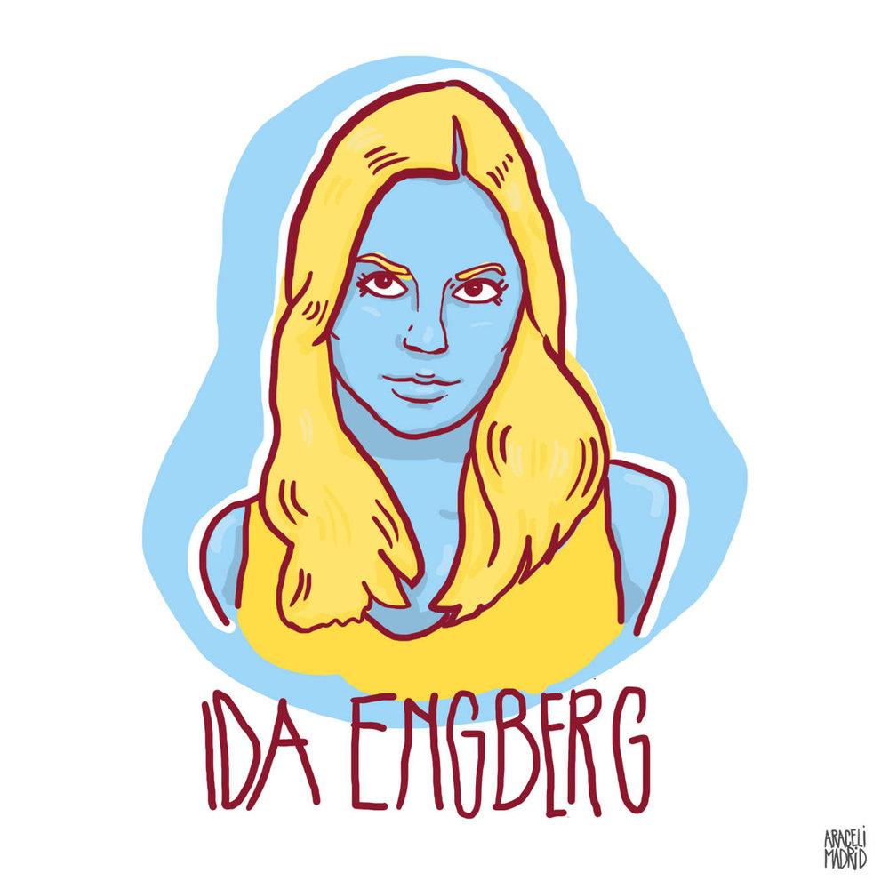 Ida Engberg Djs ilustrados