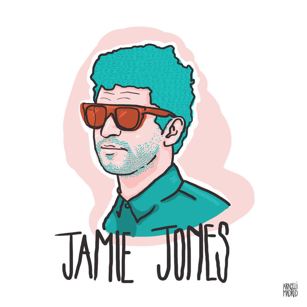 Jamie Jones Djs ilustrados