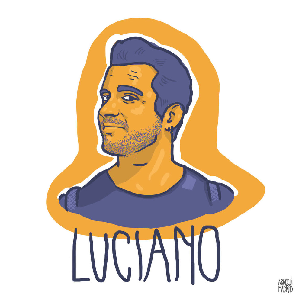 Luciano Djs ilustrados