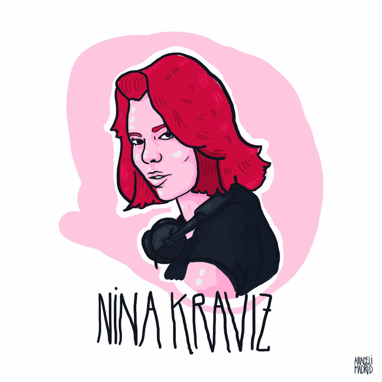 Nina Kraviz Djs ilustrados