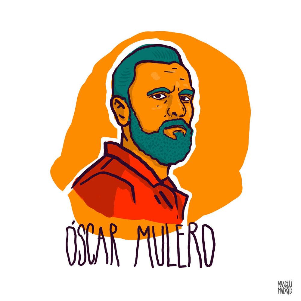 Oscar Mulero Djs ilustrados