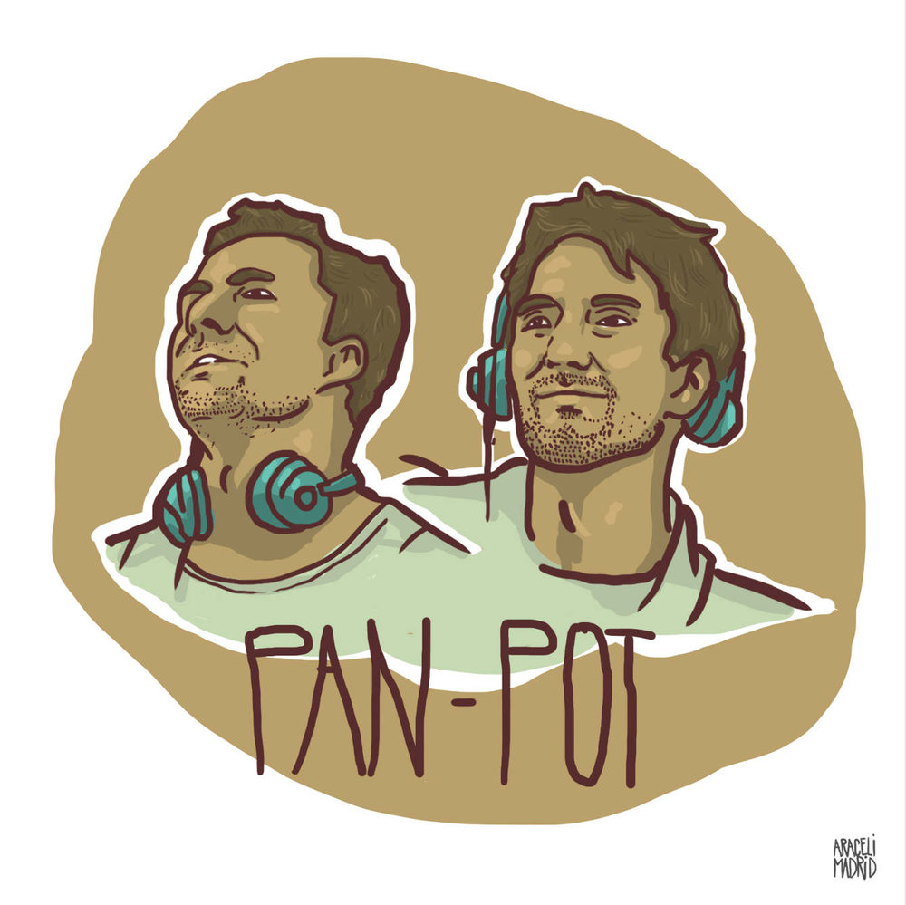 Pan-Pot Djs ilustrados