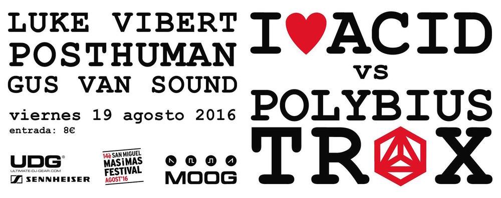 Polybius Trax Moog Barcelona