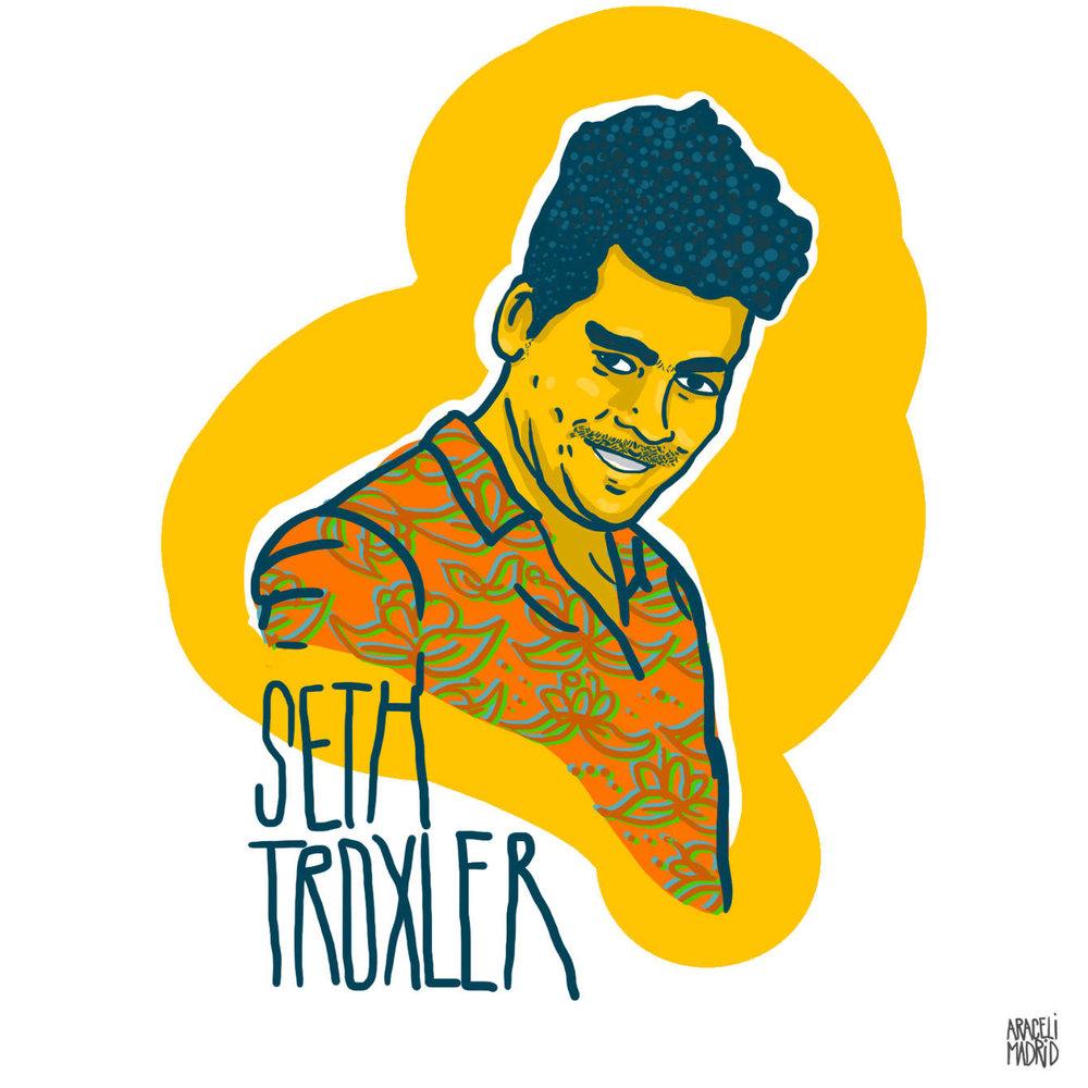 Seth Troxler Djs ilustrados