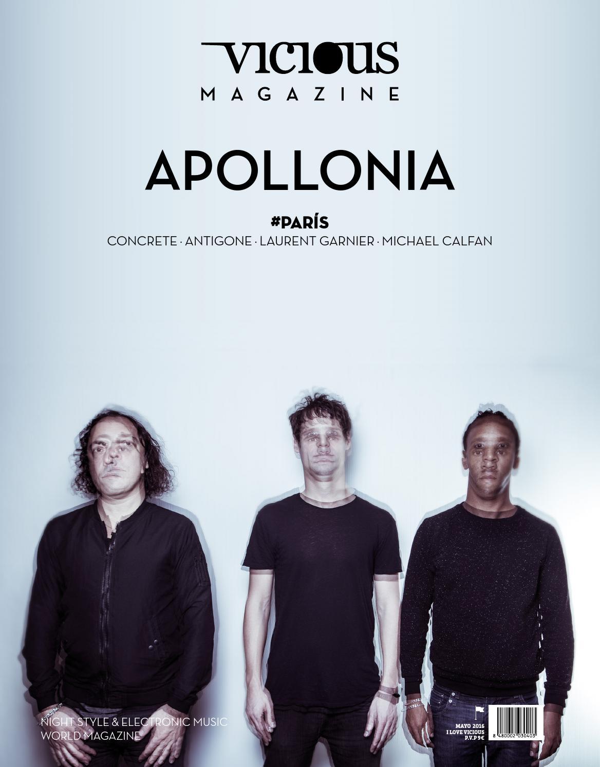 Apollonia On Cover Vicious Magazine