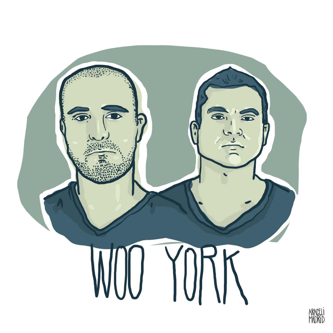 Woo York Djs ilustrados