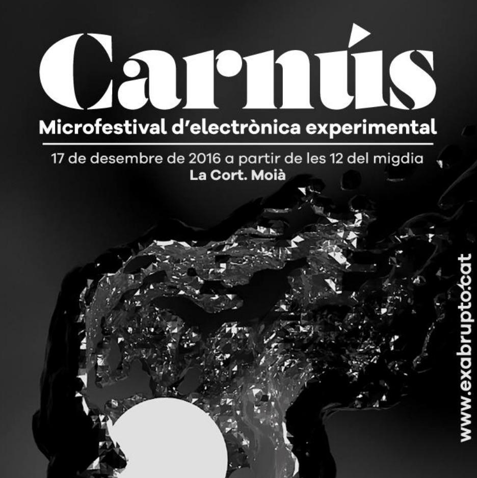 Carnús 2016 Microfestival Música Electrònica