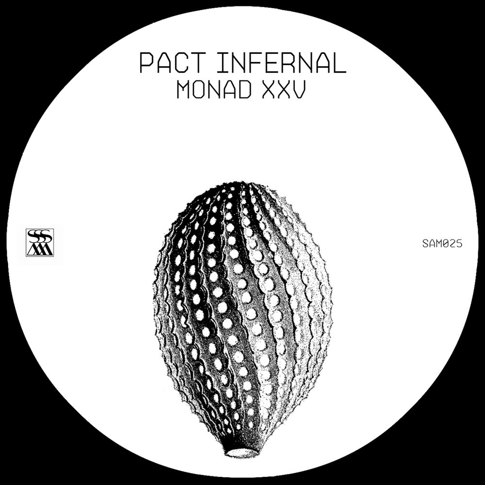 Pact Infernal — Monad XXV - Sello: Stroboscopic Artefacts. Lanzamiento: 18.08.2017