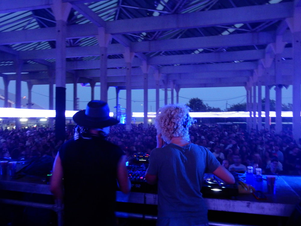 Cassy B2B Carl Craig en DGTL Festival Barcelona 2018. Photo by Vanity Dust.
