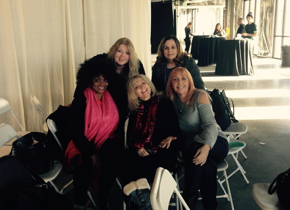 Molly Writer/Producer Brigette ReDavid with Caron Nightingale (Nightingale Music Productions), Executive Producer Cynthia A. Minor, Utah Women in Film President Susan McEvoy, and Producer Karen Espenant.