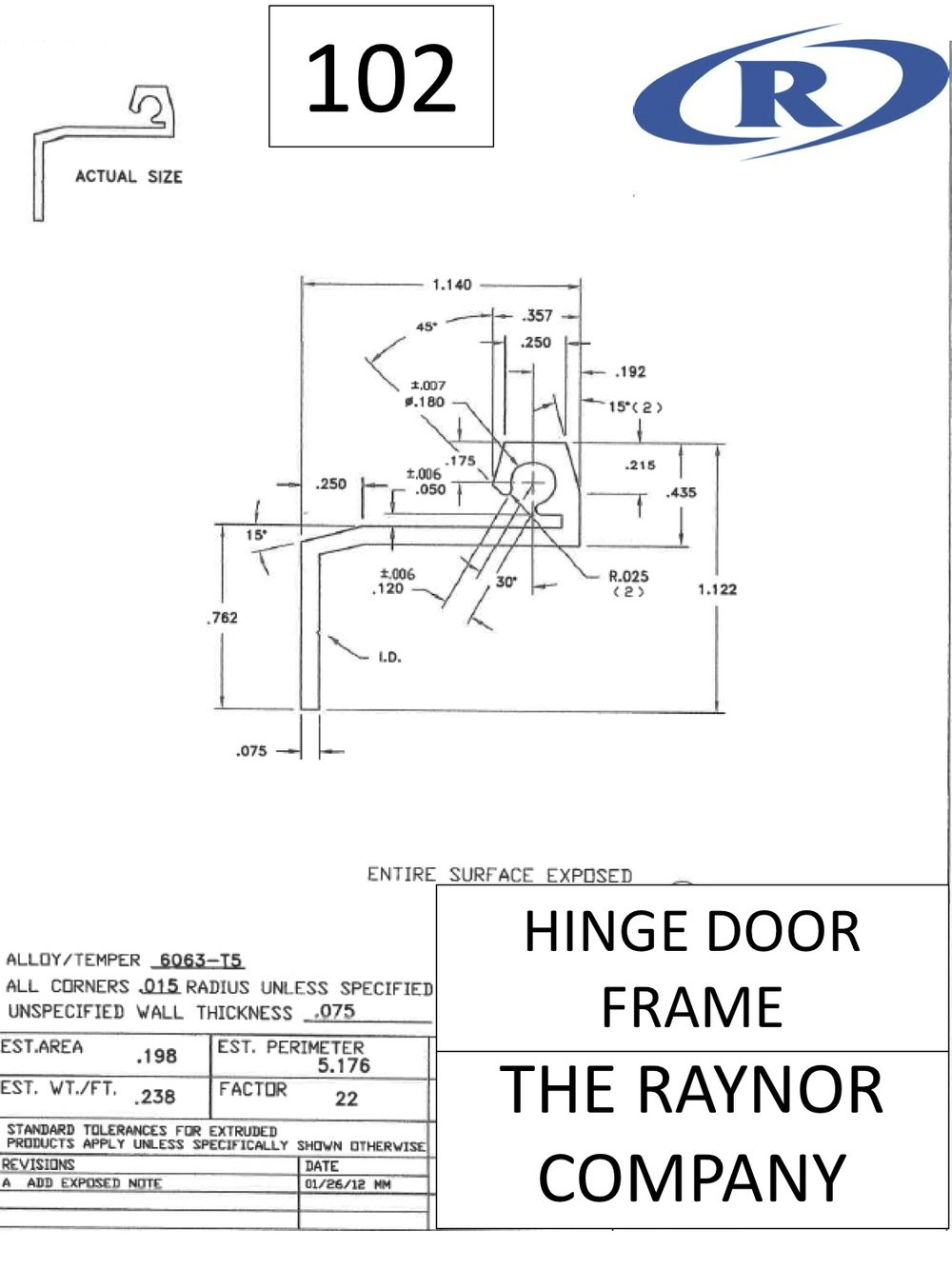 Hinge Door Frame