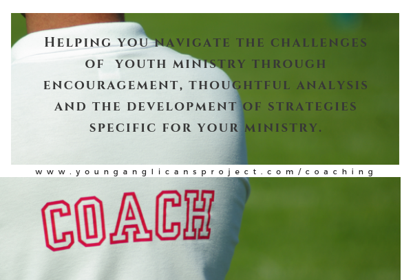 Coaching - We offer youth ministry coaches for those interested in gaining help from veteran youth ministry folks.