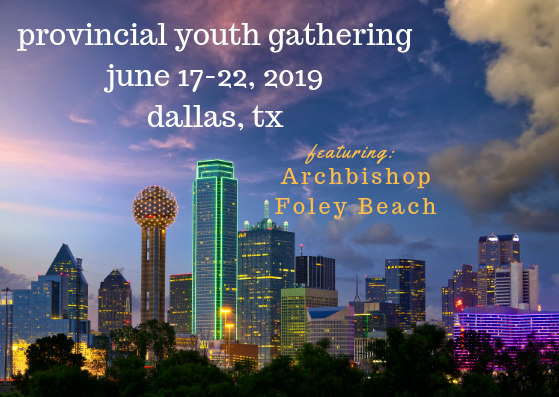 Register NOW! - Come spend a week doing what the early church did: PRAISING our mighty God, living in COMMUNITY with His people, celebrating the EUCHARIST together, and SERVING the world that He loves!