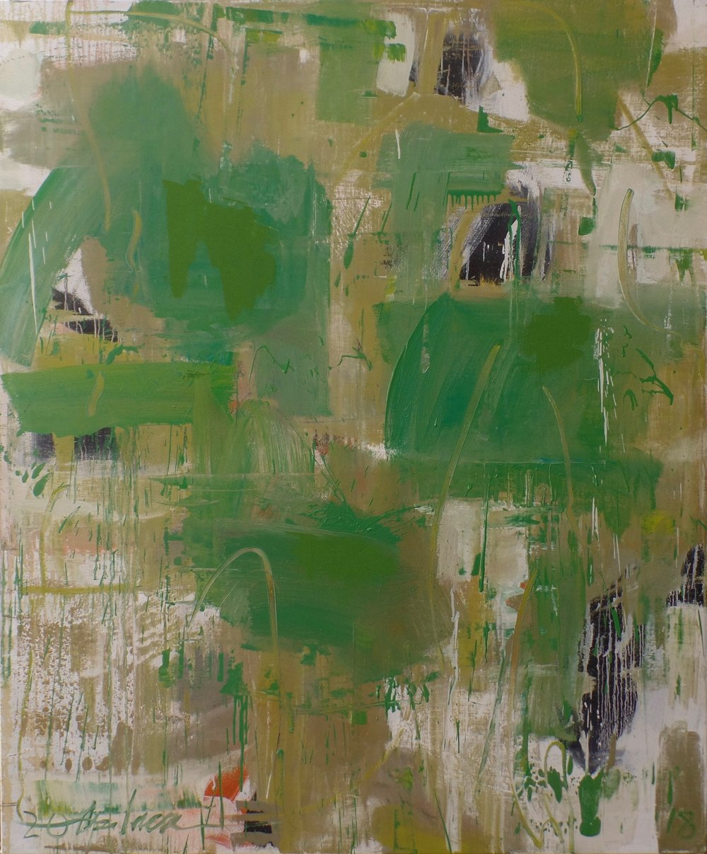 Untitled Green 2018