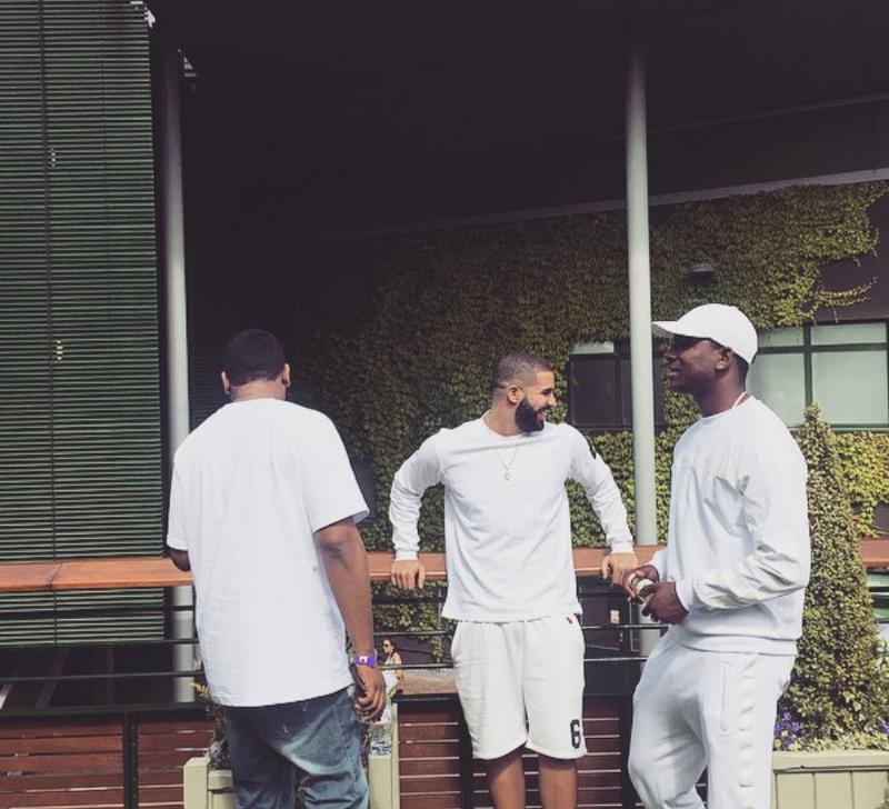 Drake, Wizkid, and Skepta