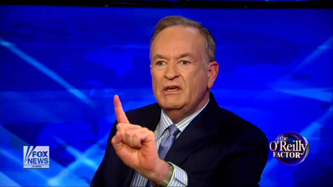 Words... super, Bill fuck oreilly