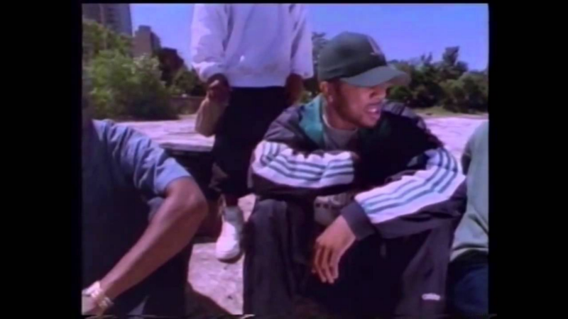 """A shot from Common's 1994 video for """"I Used to Love H.E.R."""""""