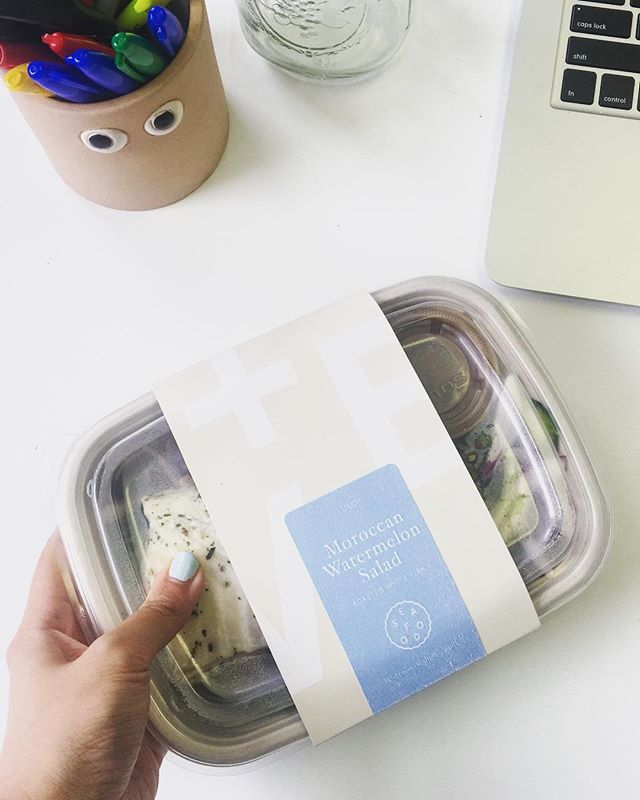 No sad desk lunch here thanks to @vegetableandbutcher! Not only is each bowl full of tasty, creative meals but it's compostable, too! (And the lid is recyclable ♻️.) Nourish yourself, then nourish the earth! 🌱 ___________ #madeintastelab #carefullycurated #thoughtfullyprepared #edibledc #pinefor #bythings #acreativedc #madeindc #vegan #igdc #dcfoodporn