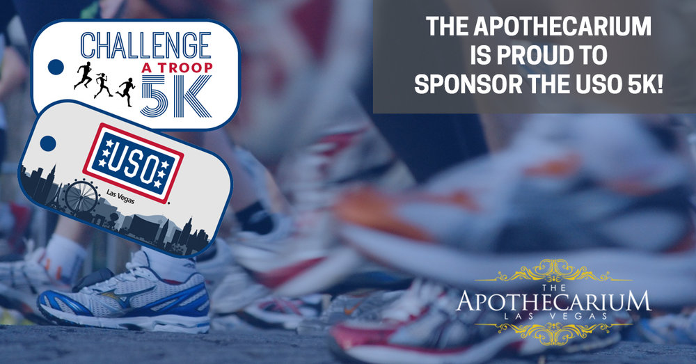 The Apothecarium is proud to sponsor the USO Challenge.