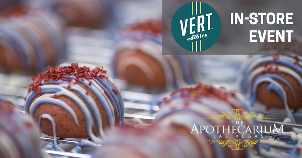 the apothecarium las vegas a recreational and medical marijuana dispensary discusses their event with vert edibles