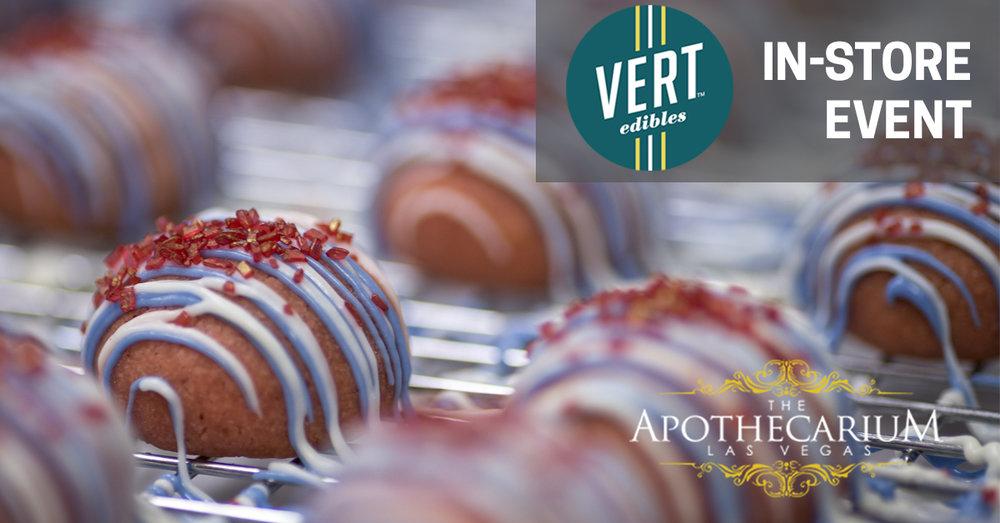 Vert Edibles now available at The Apothecarium in Las Vegas, NV.