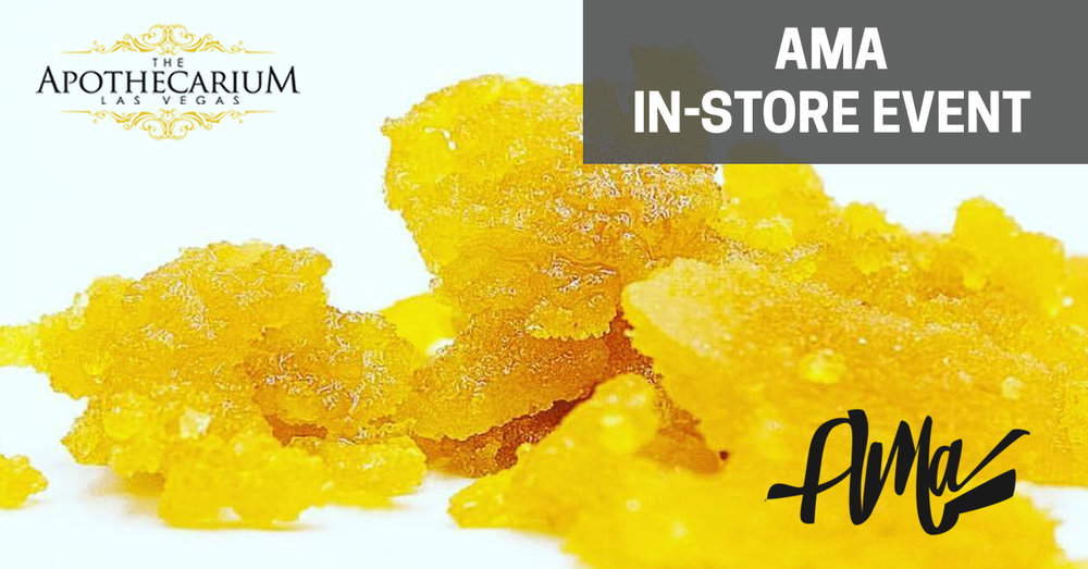 Join us in store to learn about flower and concentrates from the Alternative Medicine Association.