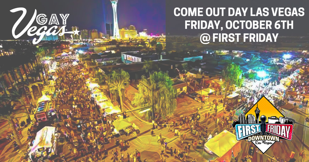 The Apothecarium is proud to support Come Out Day and First Friday, Downtown Las Vegas.