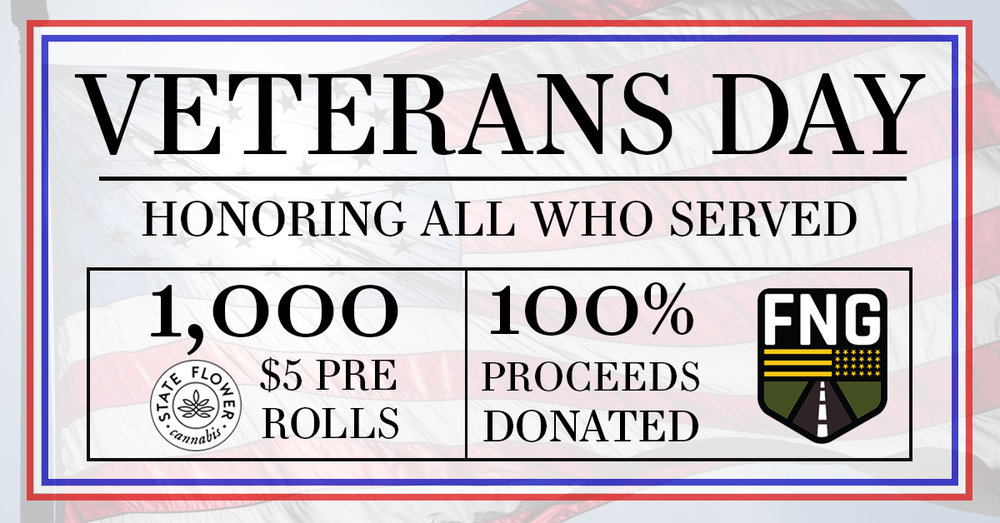 the apothecarium a recreational and medical cannabis dispensary discusses their veterans day fundraiser for forgotten not gone