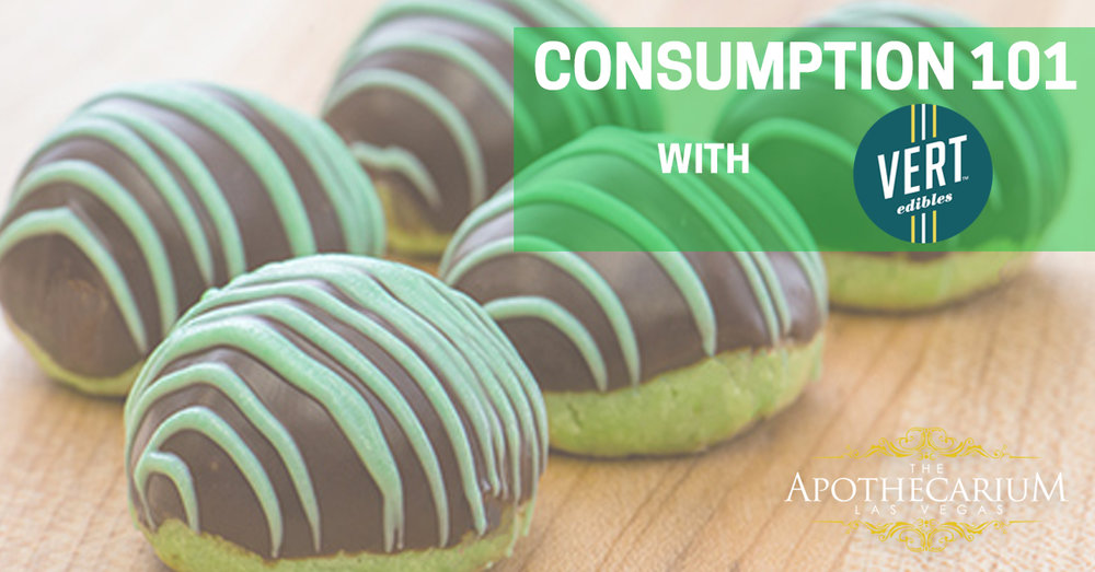 the apothecarium las vegas a recreational and medical cannabis dispensary discusses their consumption 101 class taught by vert edibles