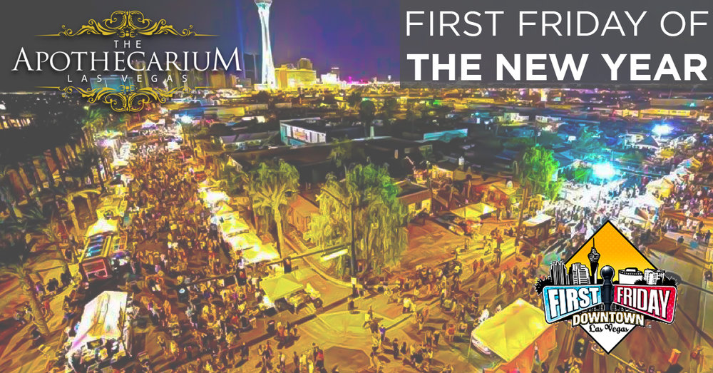 the apothecarium las vegas a medical and recreational marijuana dispensary discusses their event at first friday