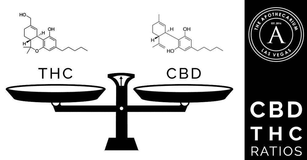 the apothecarium a medical and recreational cannabis dispensary discusses various cbd to thc ratios