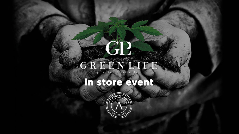 the apothecarium las vegas a recreational and medical cannabis dispensary discusses their in store event with green life productions