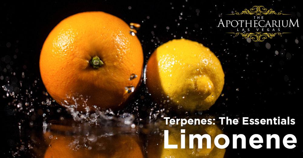 the apothecarium a recreational and medical marijuana dispensary discuss limonene