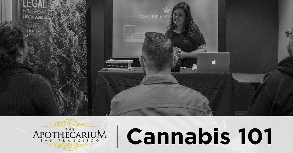 the apothecarium san francisco, a medical and recreational marijuana dispensary, discusses their cannabis 101 class