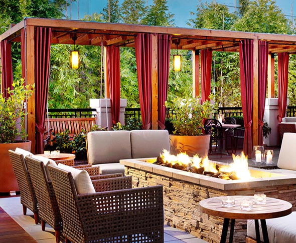 The Terrace at Andaz Hotel, Napa