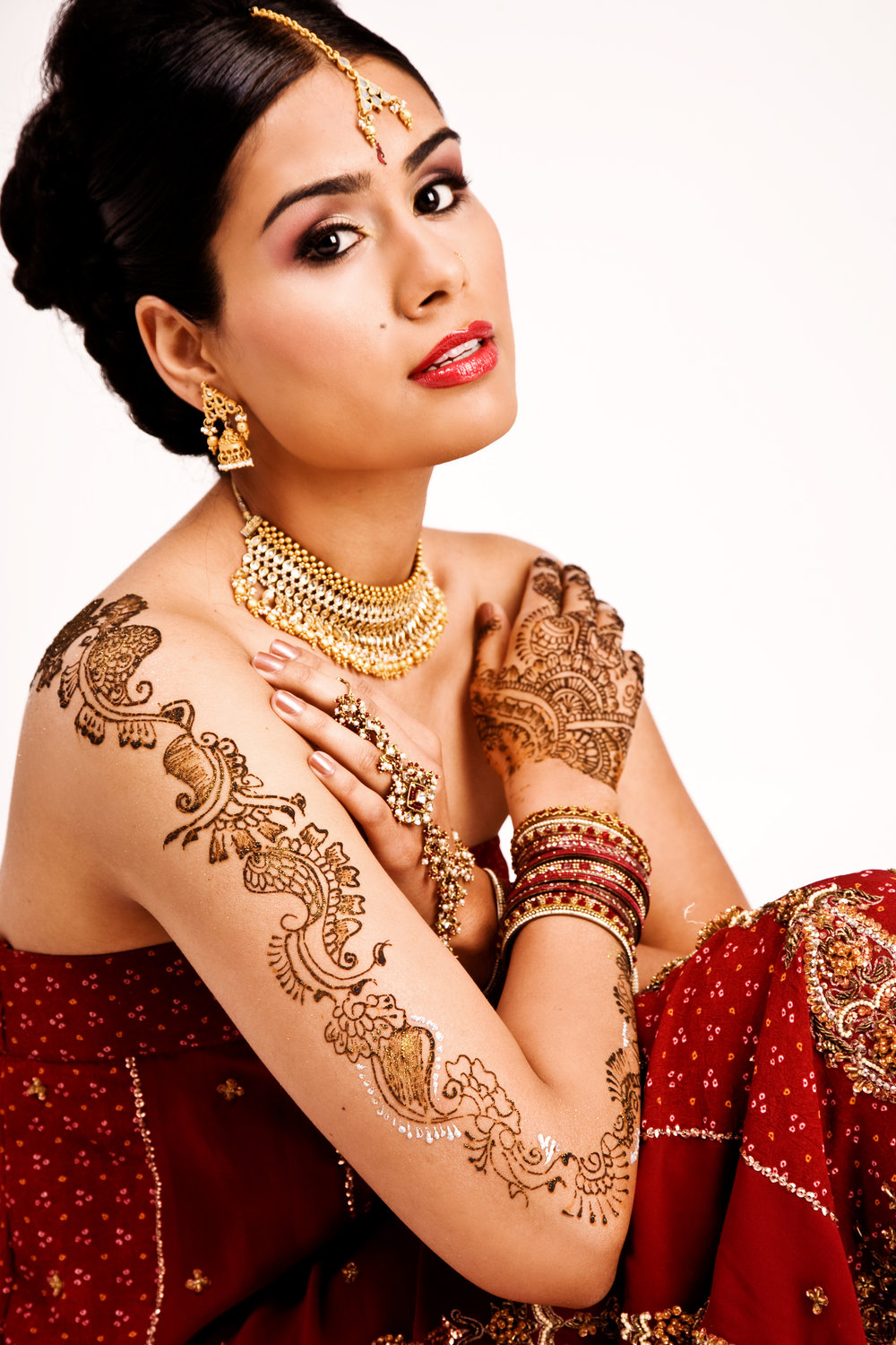 Gorgeous bridal henna by Henna and Beyond.