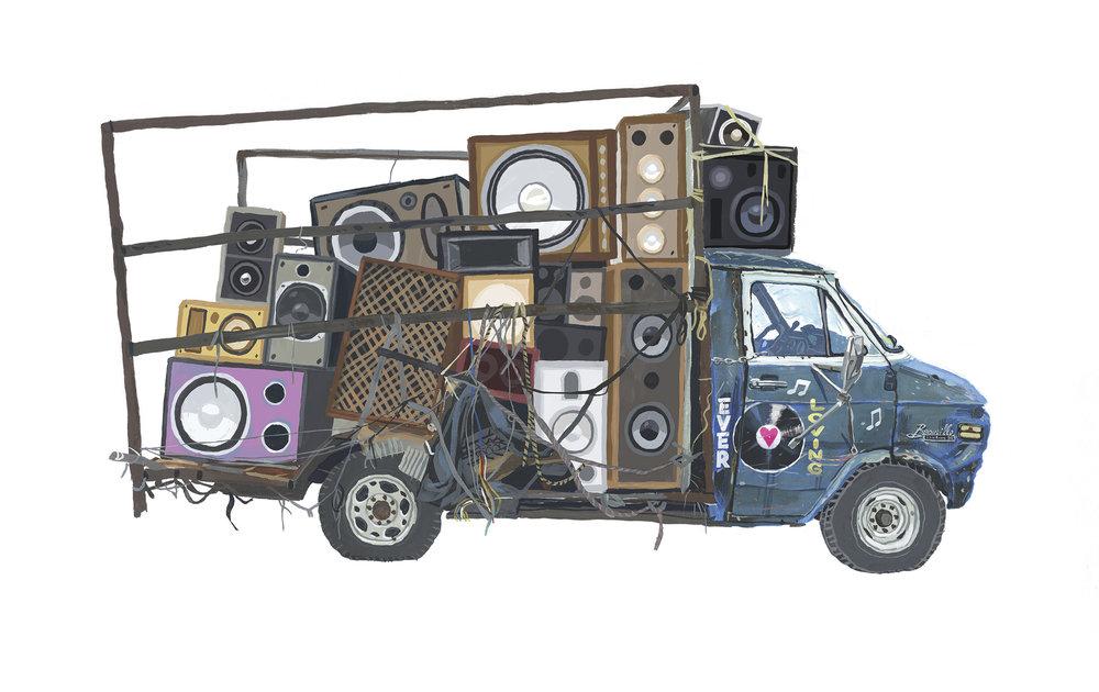Truck Sound System >> Prints Stephane Kardos