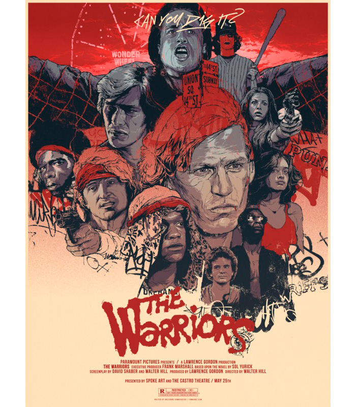 WHY I LOVE MOVIES.-The Warriors