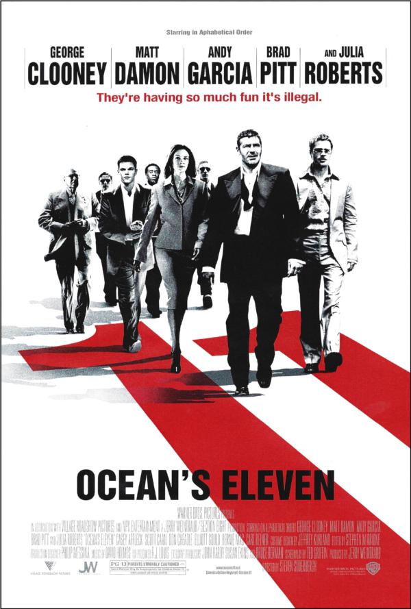 Oceans Eleven 2001