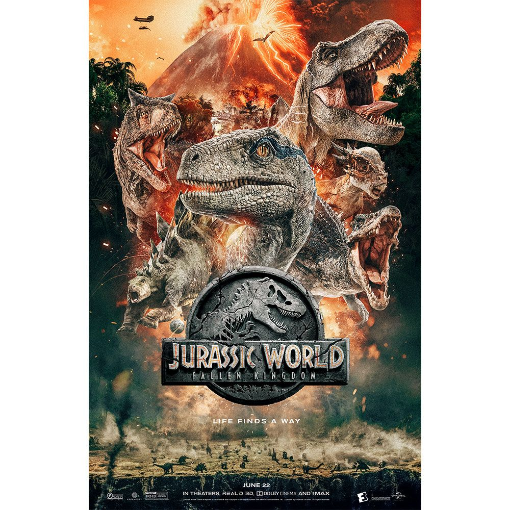 WHY I LOVE MOVIES -Jurassic World: Fallen Kingdom - 2018