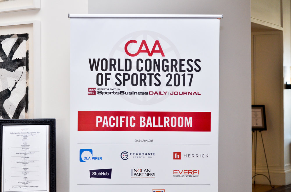 (CAA) World Congress of Sports 2017