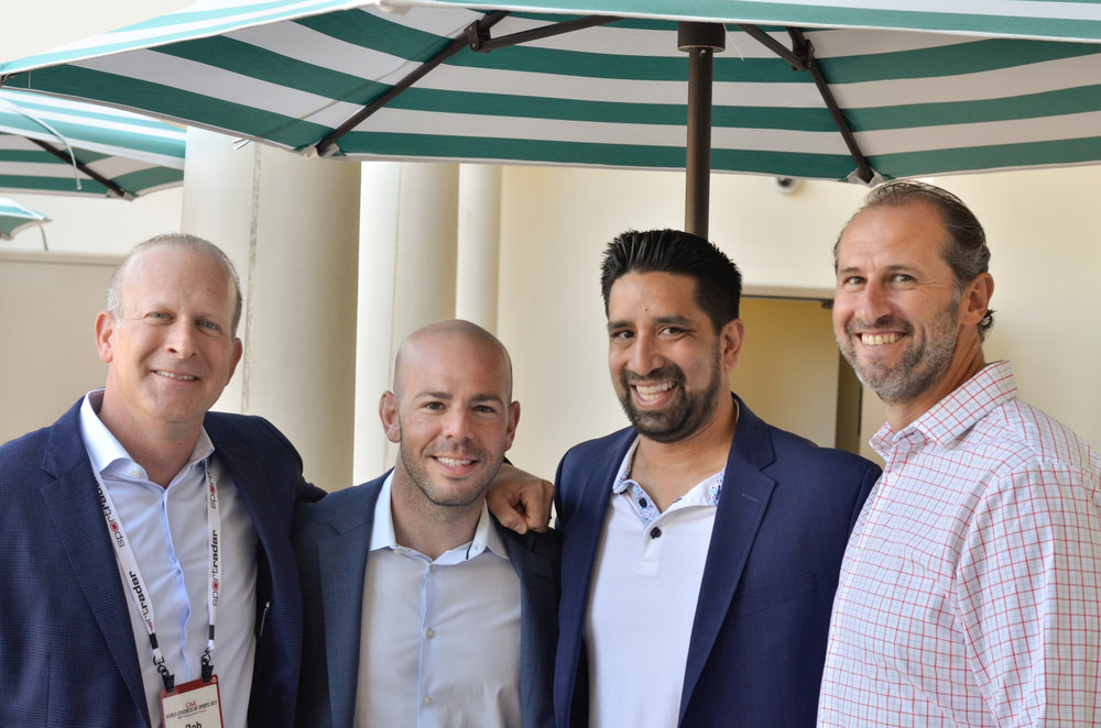 Bob Reif, Mike Tatz,  &  Rob Freeman  (Partner) Proskauer Sports Law,  Sunil Dave  (Sr., Content Acquisition Manager) Amazon Video