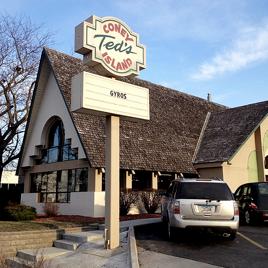Ted's Coney Island -  3020 Ingersoll Ave
