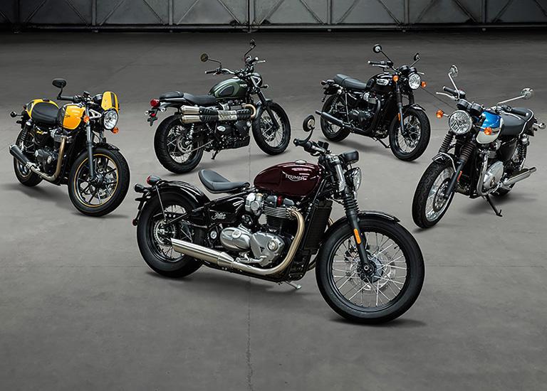Triumph Modern Classics 2017