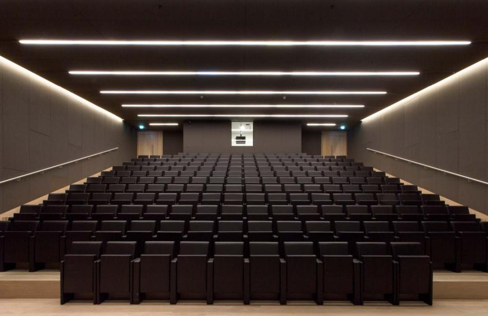 Concord Mini Continuum in the Bakala auditorium in the new Design Museum, Kensington, London