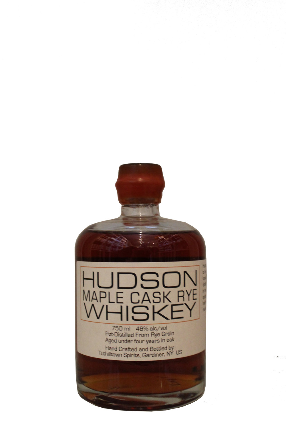 Maple Cask Rye Hudson Whiskey, New York