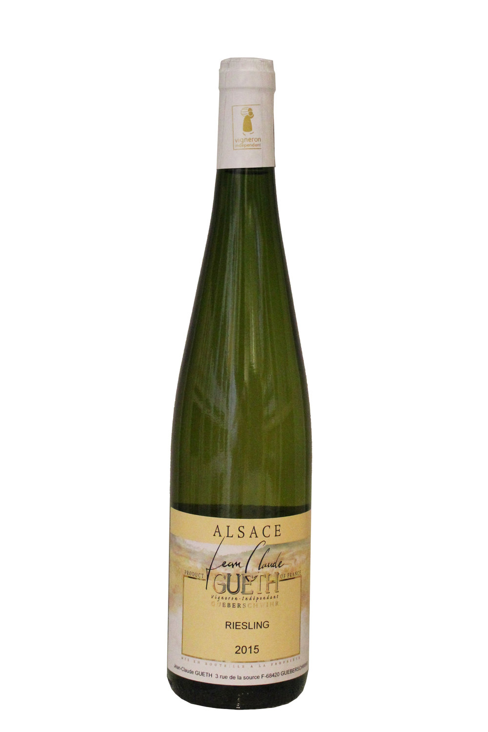 Riesling Jeane Claude Gueth, France