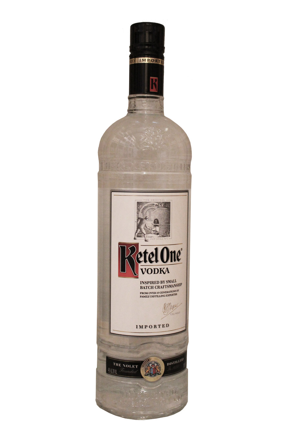 Premium Distilled Vodka Ketel One, Netherlands
