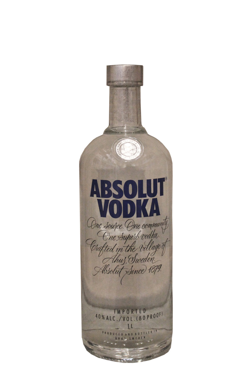 Premium Imported Vodka Absolut, Sweden