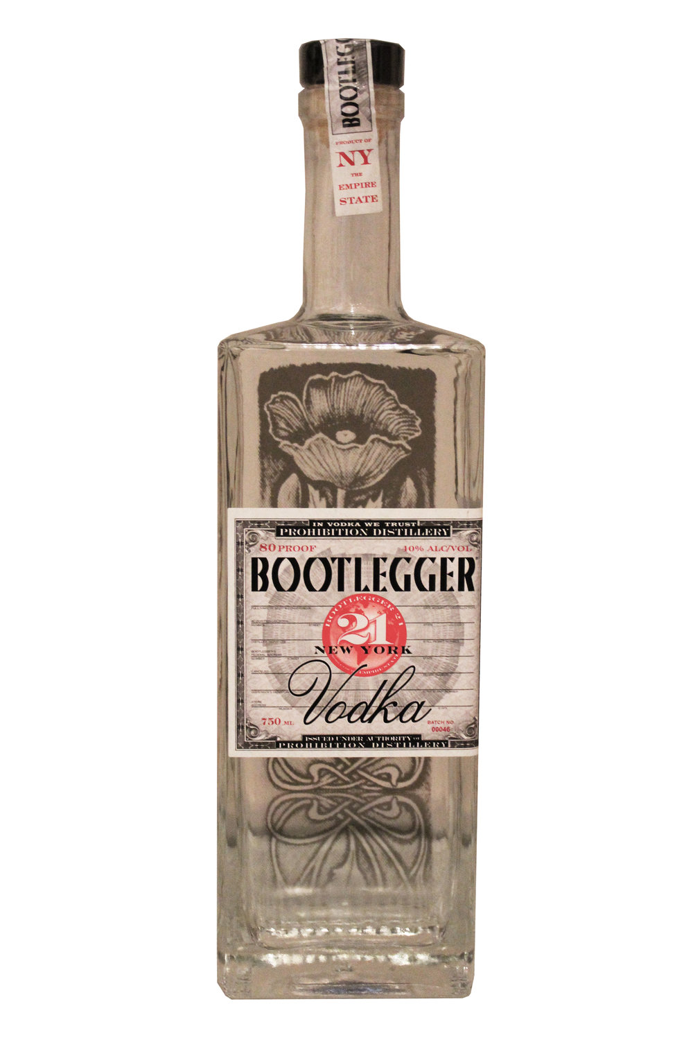 Handcrafted Gluten Free Vodka Bootlegger, New York